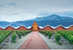 Bodegas Ysios diseño de Santiago Calatrava