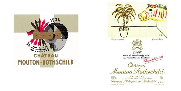 Etiquetas de vino que son obras de arte