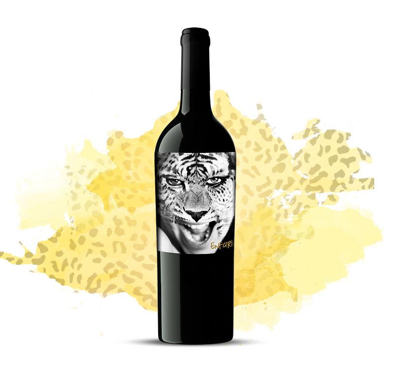 diseño de etiquetas de vino-barrica creativa-enfuria