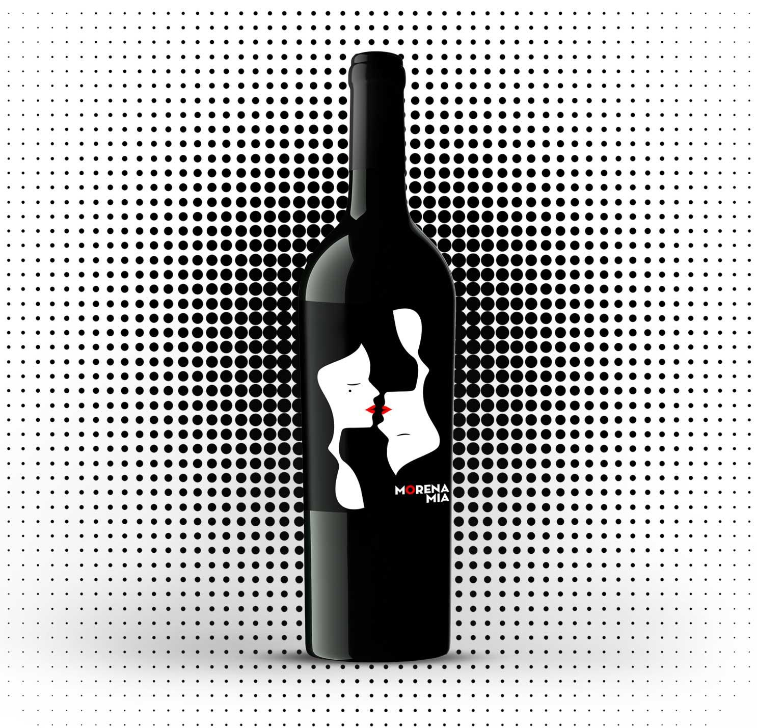 diseño de etiquetas de vino-barrica creativa-morenamia