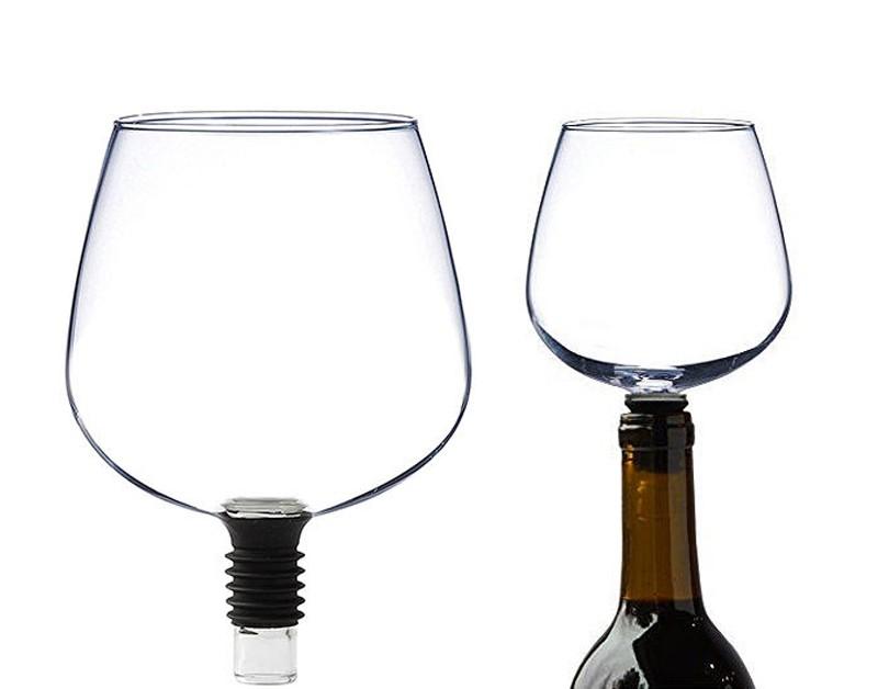 Ciencia ficción hasta en las copas de vino
