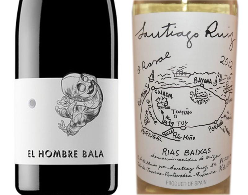 La originalidad llama a la puerta en el diseño de etiquetas de vino