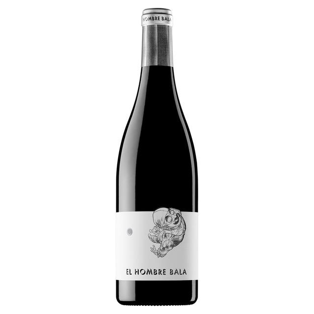 diseño de etiquetas de vino-barrica creativa-hombre bala