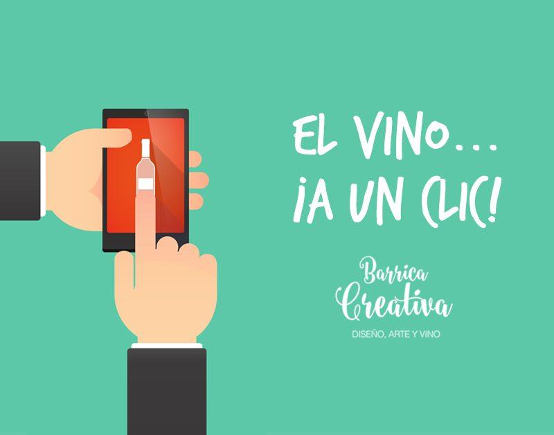Comprar vino por internet… ¡a través del móvil!