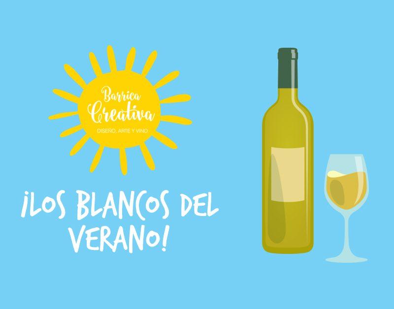 Blancos y frescos, así son algunos vinos para el verano