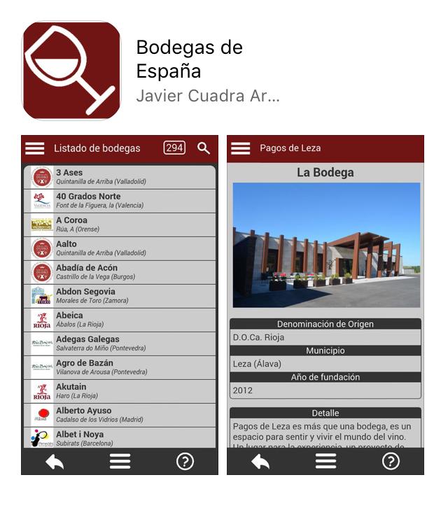 app sobre vino-barrica creativa-BODEGAS DE ESPAÑA