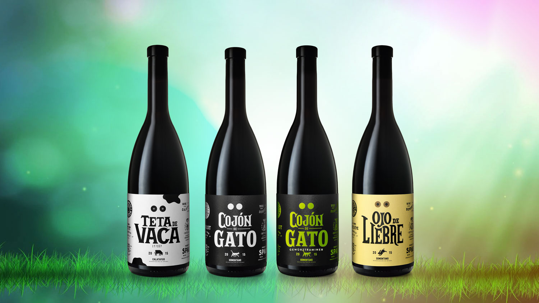 diseño de etiquetas-barrica creativa-vinos divertidos
