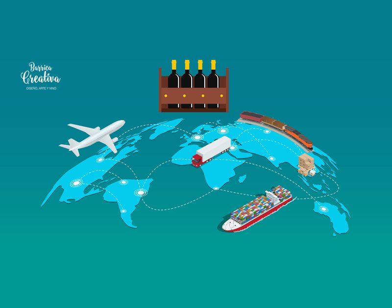 Traspasando fronteras: incremento de las exportaciones de vino