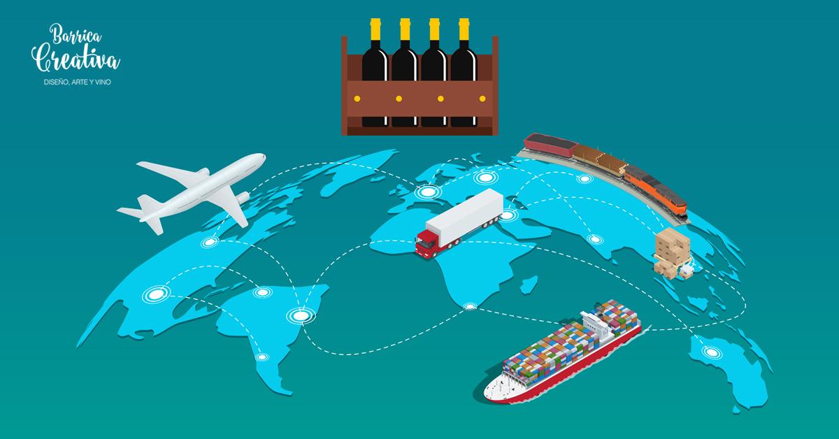 exportaciones de vino-Barrica Creativa