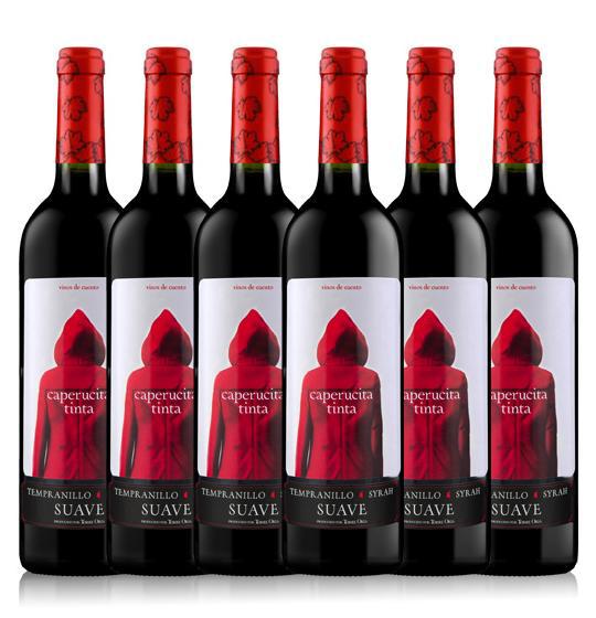 etiquetas de vino originales-barrica creativa-caperucita