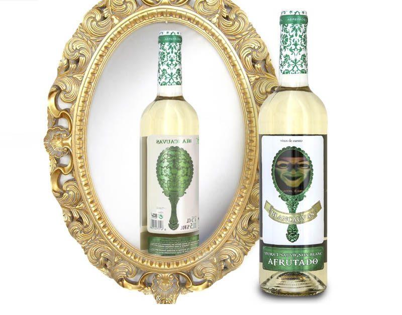 Etiquetas de vino originales para vinos de cuento