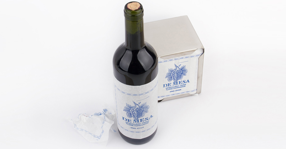packaging de vino-barrica creativa-de mesa