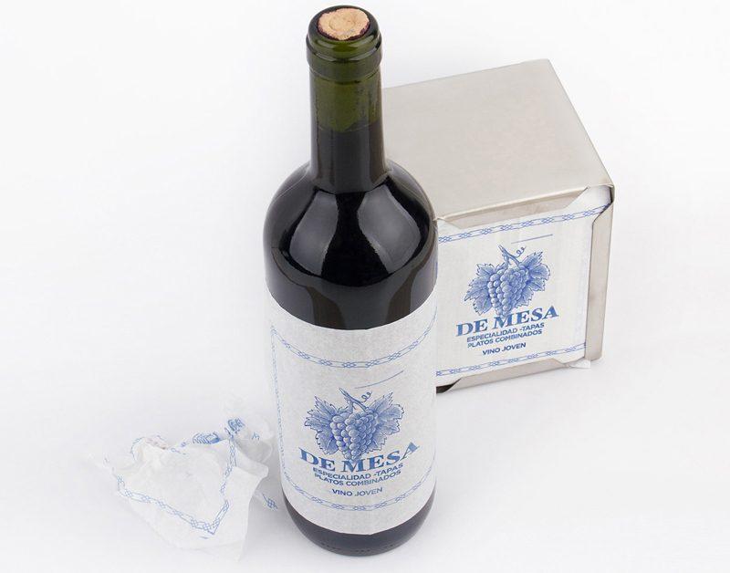 Packaging de vino para llamar la atención