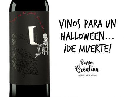 Packaging de vino para Halloween que no deja indiferente