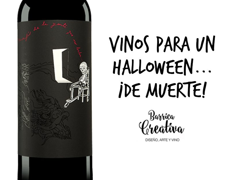 Packaging de vino para Halloween que no deja indiferente