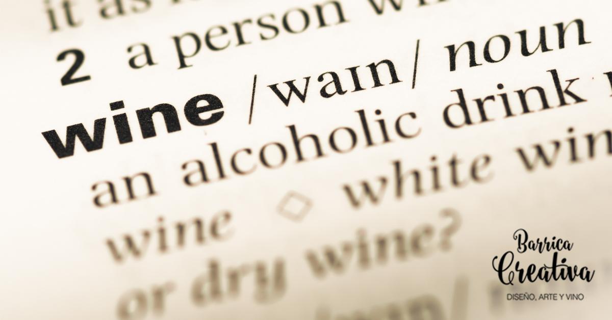 términos sobre vino-Barrica creativa