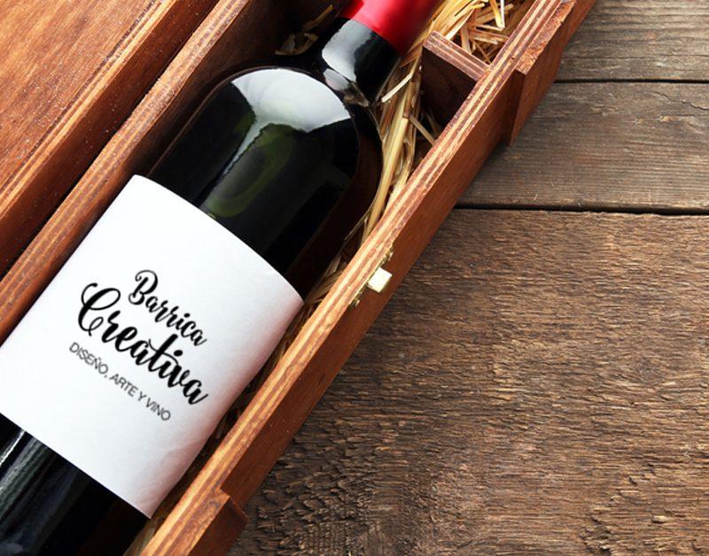 ¿Cómo envolver una botella de vino para regalo?