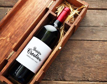Etiquetas de vino personalizadas para regalar