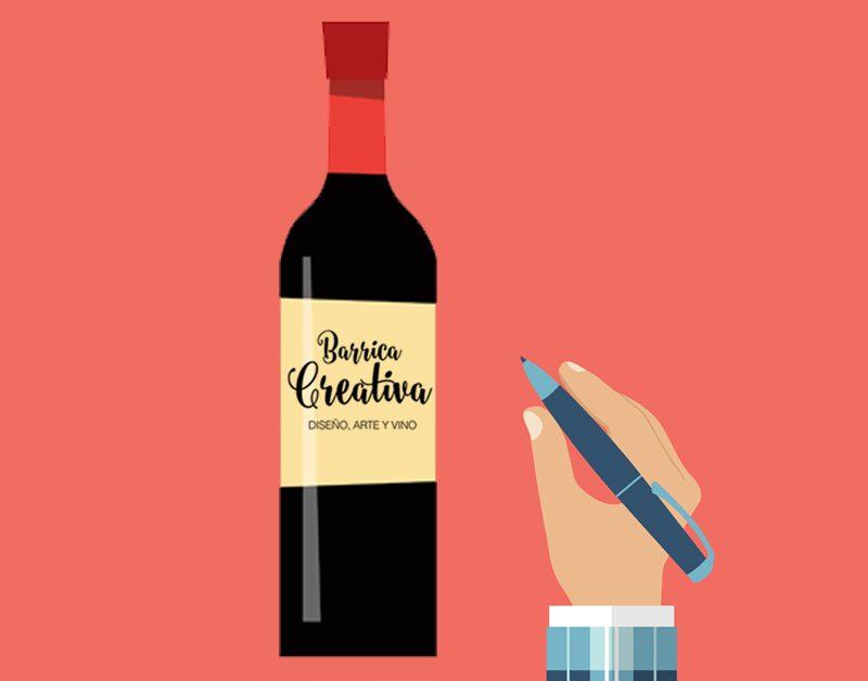 Para diseñar etiquetas de vino… ¡un diseñador!