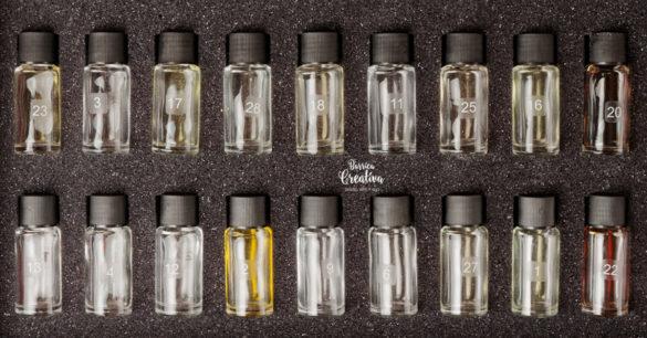 caja de aromas para catar vino